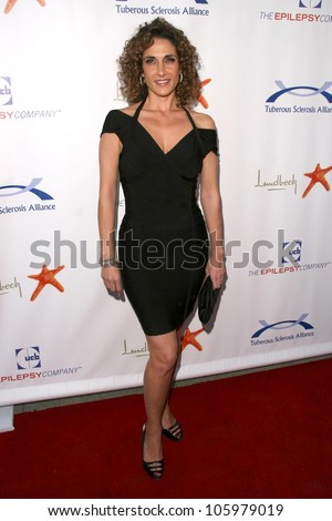 Melina Kanakaredes at the 8th Annual Comedy for A Cure, a Benefit to raise Funds and Awareness for the Tuberous Sclerosis Alliance. Boulevard3, Hollywood, CA. 04-05-09 - stock photo
