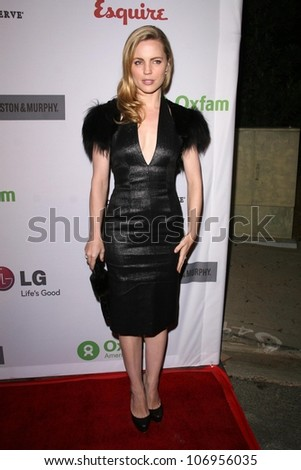 Melissa George  at 'The Annual Oxfam Party'. Esquire House, Hollywood, CA. 11-14-08