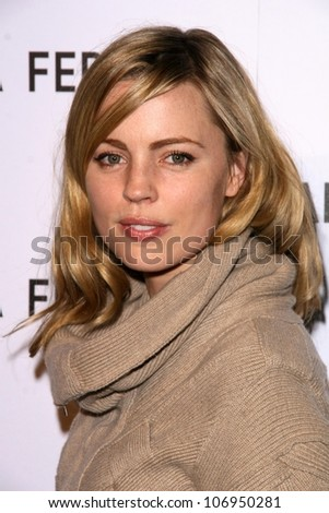 Melissa George  at the Opening of the Alberta Ferretti Flagship Store on Melrose hosted by Vogue. Alberta Ferretti, Los Angeles, CA. 11-12-08 - stock photo