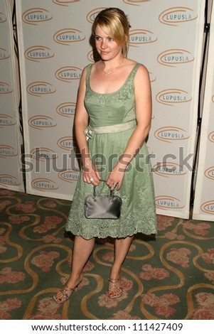 Melissa Joan Hart  at An Evening of Love, Light and Laughter by Lupus LA. Beverly Hills Hotel, Beverly Hills, CA. 05-08-07 - stock photo