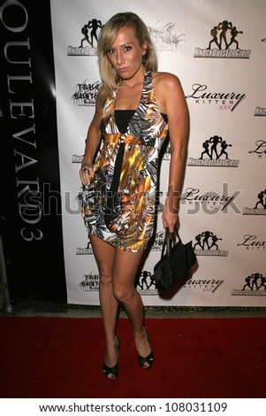 "Melissa Mojo Hunter  at ""Knock Outs For Girls"". Boulevard 3, Hollywood, CA. 06-24-08 - stock photo"