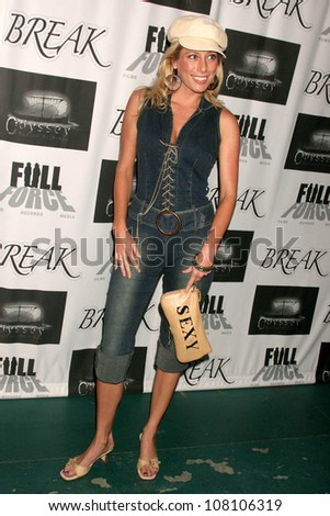 """Melissa Mojo Hunter  at the Los Angeles Premiere of """"Break"""". Crest Theater, Westwood, CA.  07-10-08 - stock photo"""