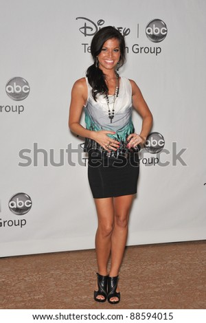 "Melissa Rycroft - star of ""The Bachelor"" - at the Disney ABC TV All Star Mixer at the Beverly Hilton Hotel, Beverly Hills, CA. August 1, 2010  Los Angeles, CA Picture: Paul Smith / Featureflash"