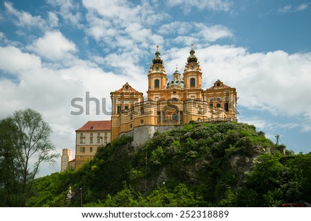 Melk monastery, Austria   - stock photo