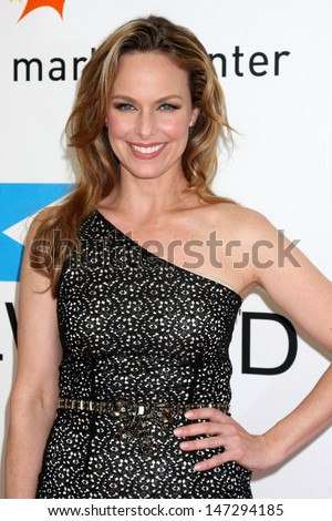 Melora Hardin  arriving at the Fashion for Life 2009 Fashion Show benefiting Friendly House at the California Market Center in Los Angeles, CA on May 17, 2009