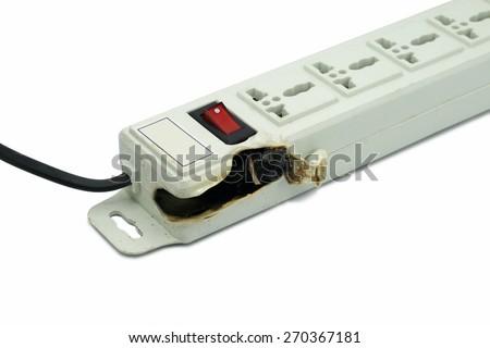Meltdown and Burn Power Bar Plug - stock photo