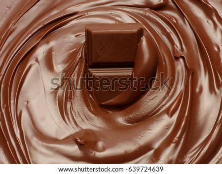 Melted Chocolate Background Melting Chocolate Chocolate Stock ...