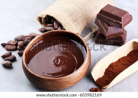 Melting Chocolate Stock Photo 606566816 - Shutterstock
