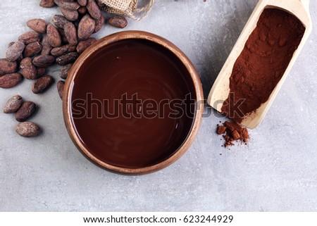 Melting Chocolate Stock Photo 606566828 - Shutterstock