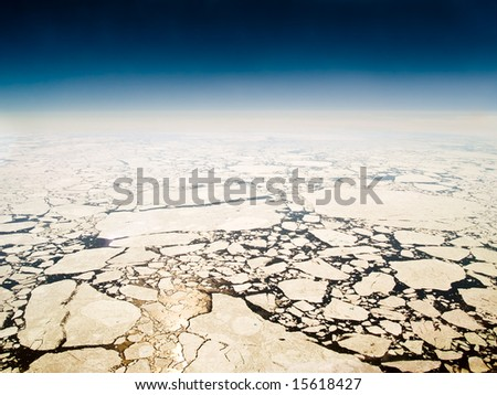 Melting Sea Ice