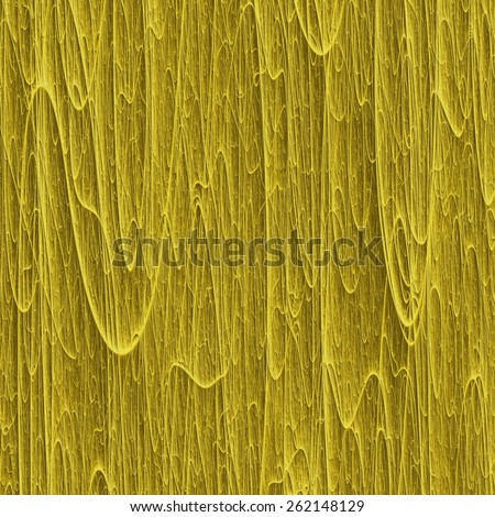 Melting wax macro 3D texture with many vertical gold streaks. Digitally generated abstract background looks like many long golden flows of wax. - stock photo