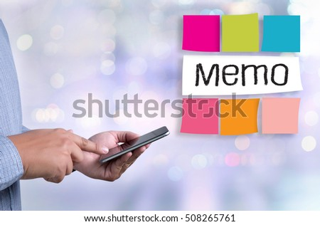 Memo List Do List Memo Planning Stock Photo   Shutterstock
