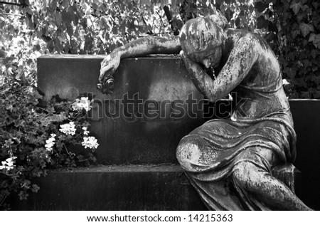 memorial place Arnstadt - Germany - stock photo