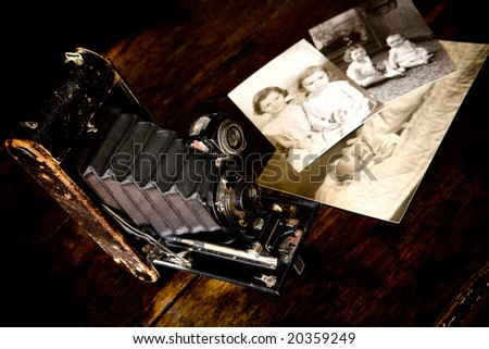 Memories - stock photo