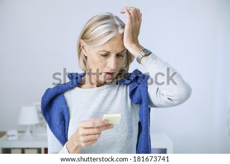 Memory Disorder - stock photo