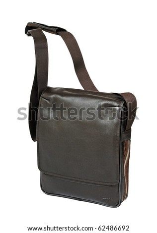 men bag - stock photo