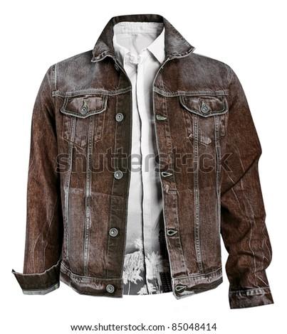 men jacket - stock photo