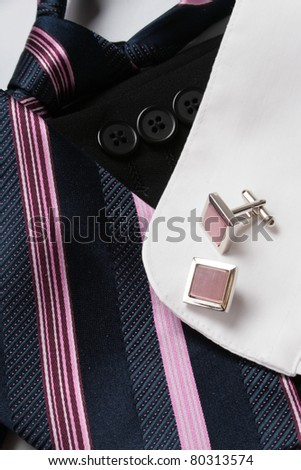 men`s accessory - stock photo