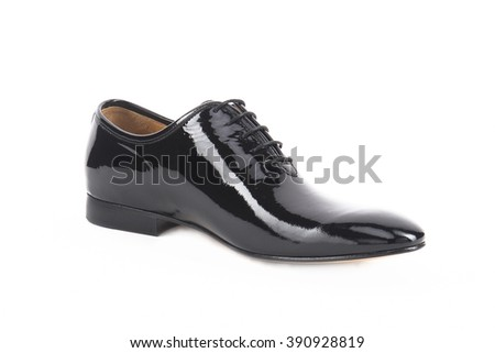 Men's footwear isolated