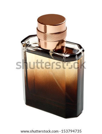 men's perfume - stock photo