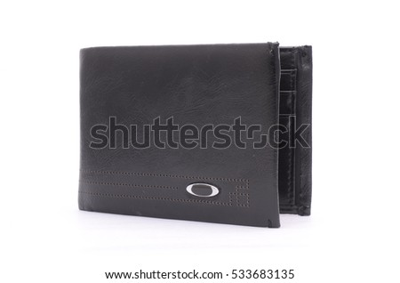 men's wallet isolated on white