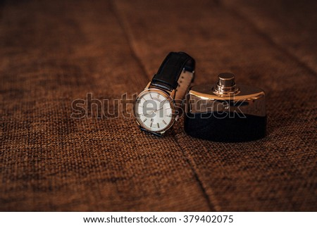Men's Watch - stock photo
