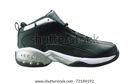 Men shoe for exercise or outdoor activity - stock photo