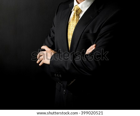 men suit - stock photo