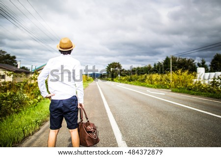 Men who walk the straight road