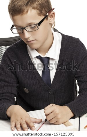 Men with a Tablet PC - stock photo