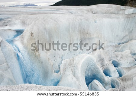 Mendenhall Glacier - stock photo