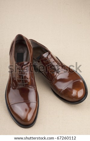Mens Shoes - stock photo