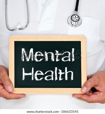 Mental Health - stock photo