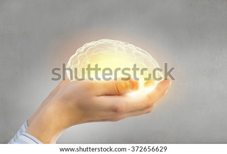 Mental health protection and care - stock photo