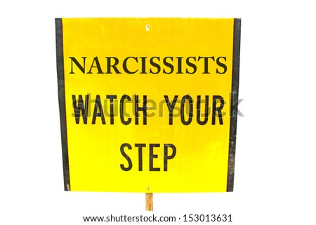 Mental health warning sign - stock photo