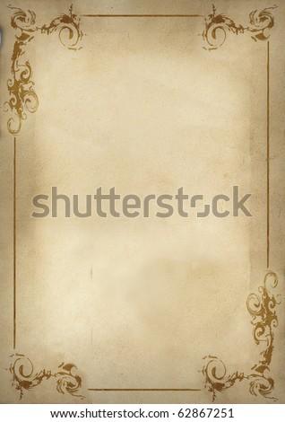 Menu background - stock photo