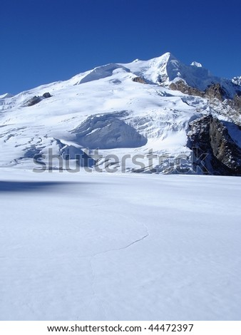 Mera Peak - stock photo