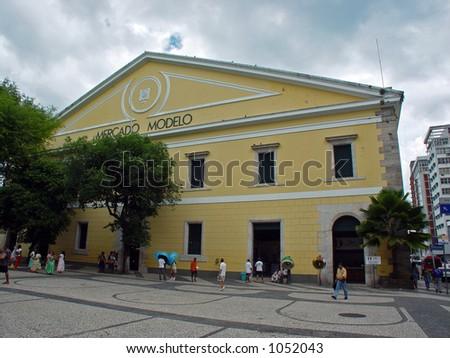 Mercado Modelo - Salvador de Bahia, Brazil - stock photo