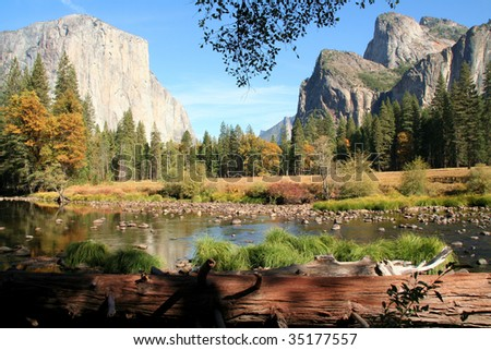 Merced River at Yosemite National Park