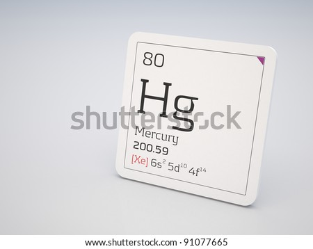 Mercury - element of the periodic table
