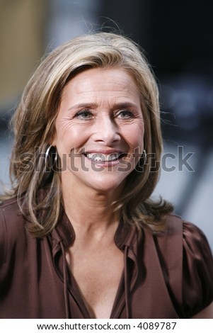 Meredith Viera on the Today Show's Concert Series from Rockefeller Plaza, New York, New York, June 29, 2007. © tal - stock photo