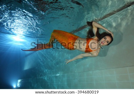 Mermaid Nixie Stock Images Royalty Free Images Vectors Shutterstock