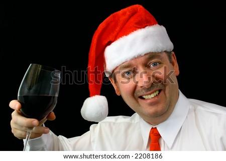 Merry Christmas 2 - stock photo