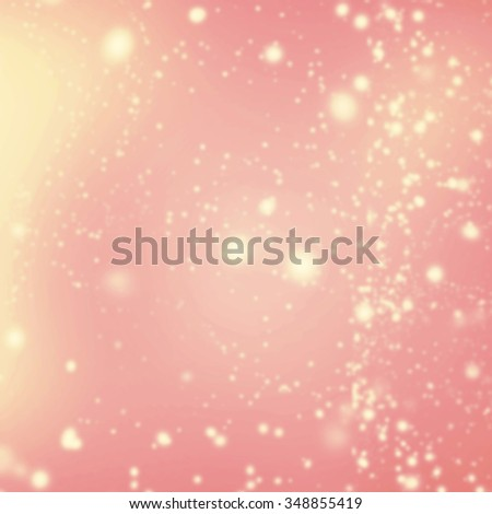 Merry Christmas and Happy New Year Card - Abstract Christmas glitter background. - stock photo