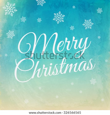 MERRY CHRISTMAS. Christmas Card. Christmas Background  - stock photo