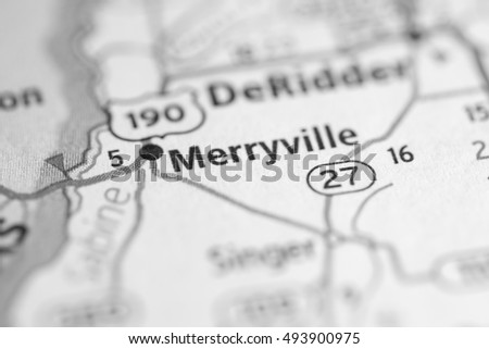 Merryville. Louisiana. USA.