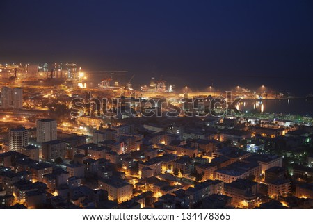 mersin at night