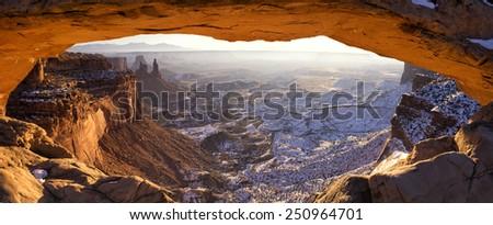 Mesa Arch - stock photo