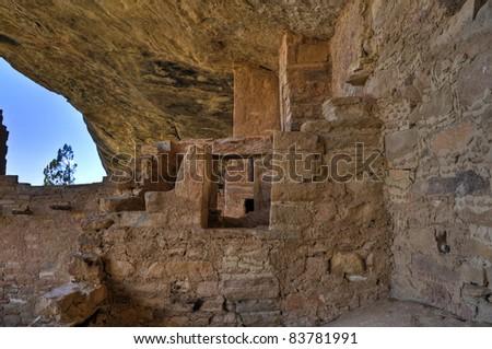 Mesa Verde National Park - stock photo
