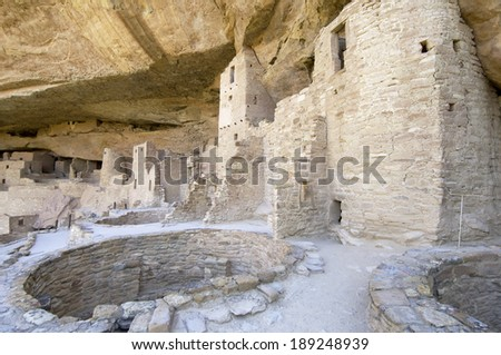 Mesa Verde National Park, Colorado, United States. - stock photo